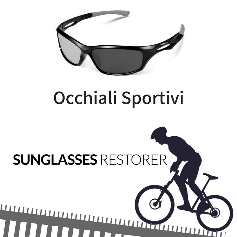 occhiali sportivi sunglasses restorer